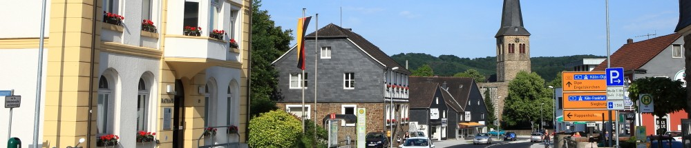 Rathaus der Stadt Overath