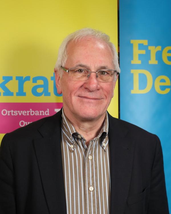 Portrait von Hermann Küsgen, FDP Orts- und Fraktionsvorsitzender in Overath