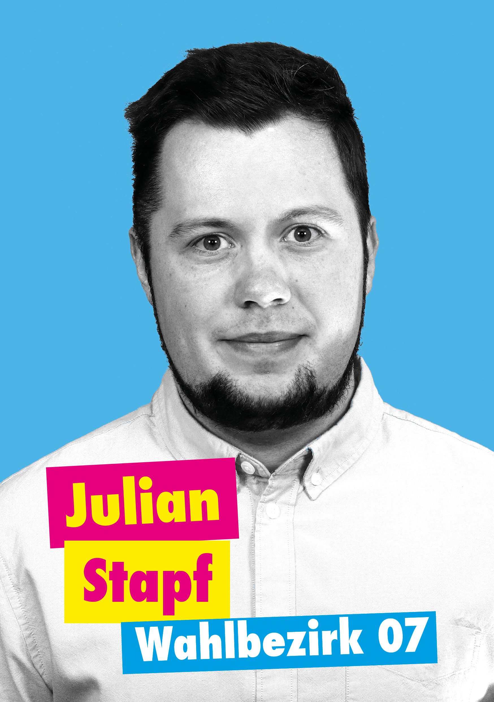 Julian Stapf, Kandidat für WB 7 Steinenbrück Nord-Ost