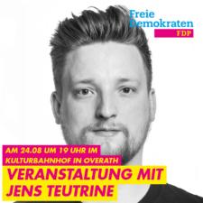 Jens Teutrine in Overath